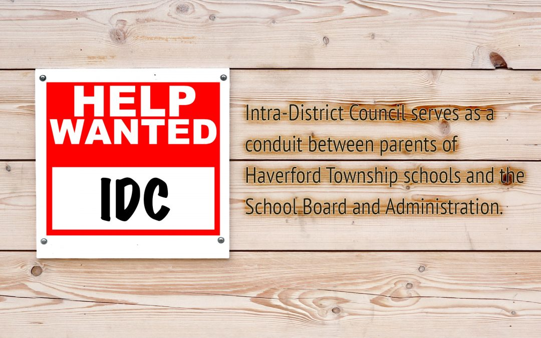 Intra-District Council: Help Wanted